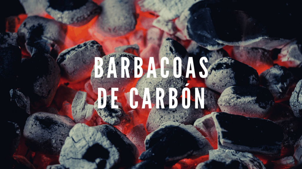 Enlace a barbacoas de carbón