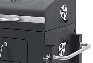 Detalle rejillas ventilación Tepro Toronto Click