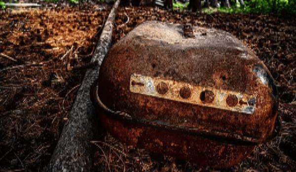 barbacoa oxidada